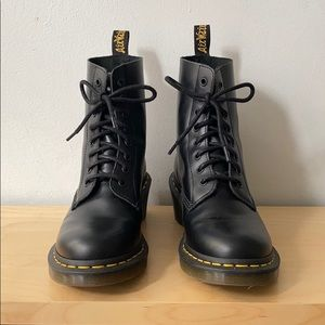 Dr Martens Clemency heeled boots